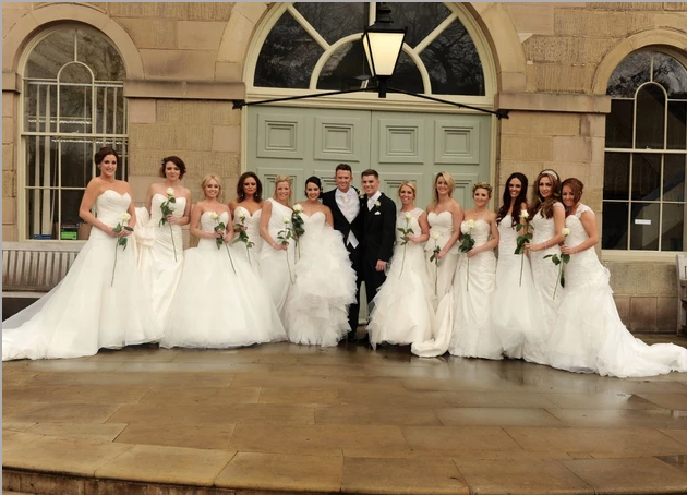 12 Brides as Bridesmaids! Brilliant! Image
